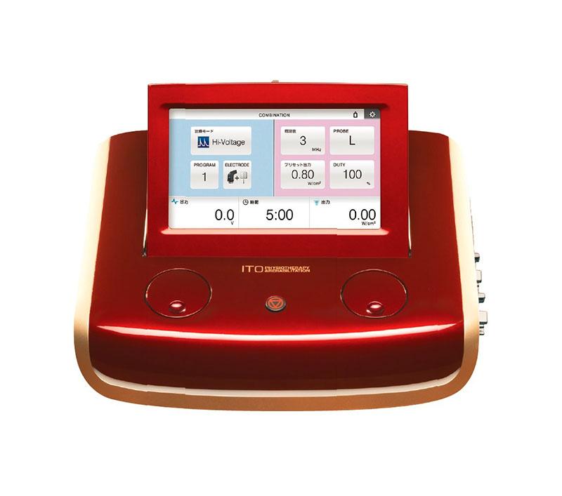 超音波+電気刺激(EU-910)